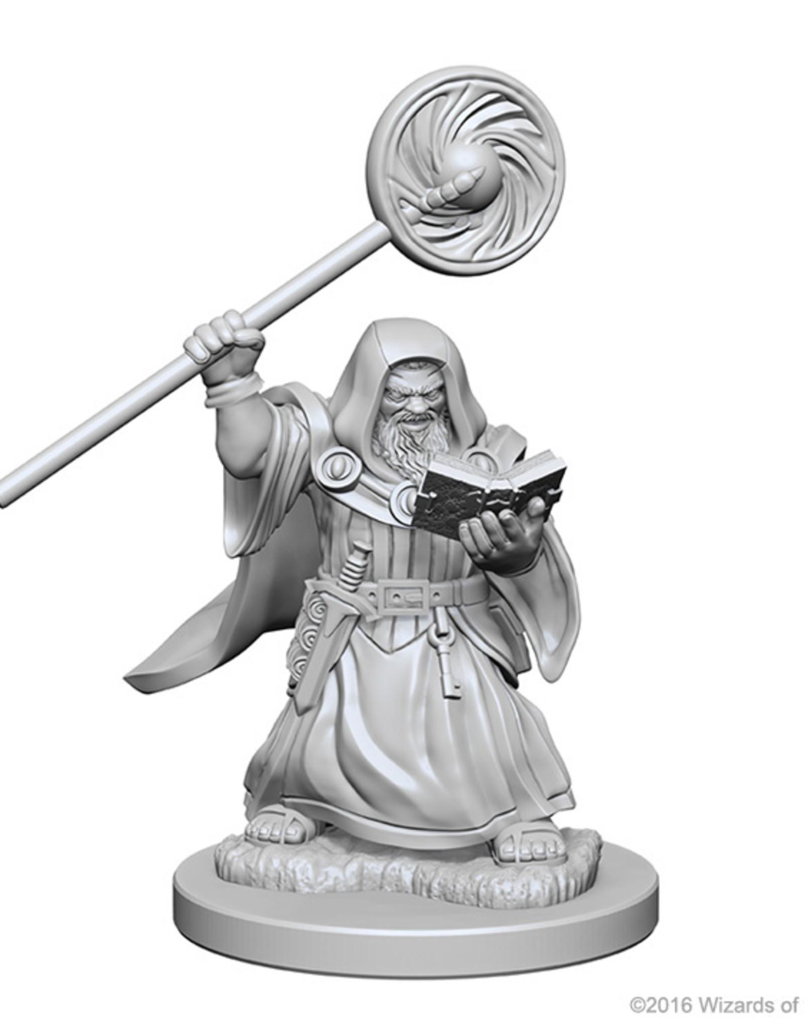 Dungeons & Dragons Nolzur`s W1 Dwarf Male Wizard