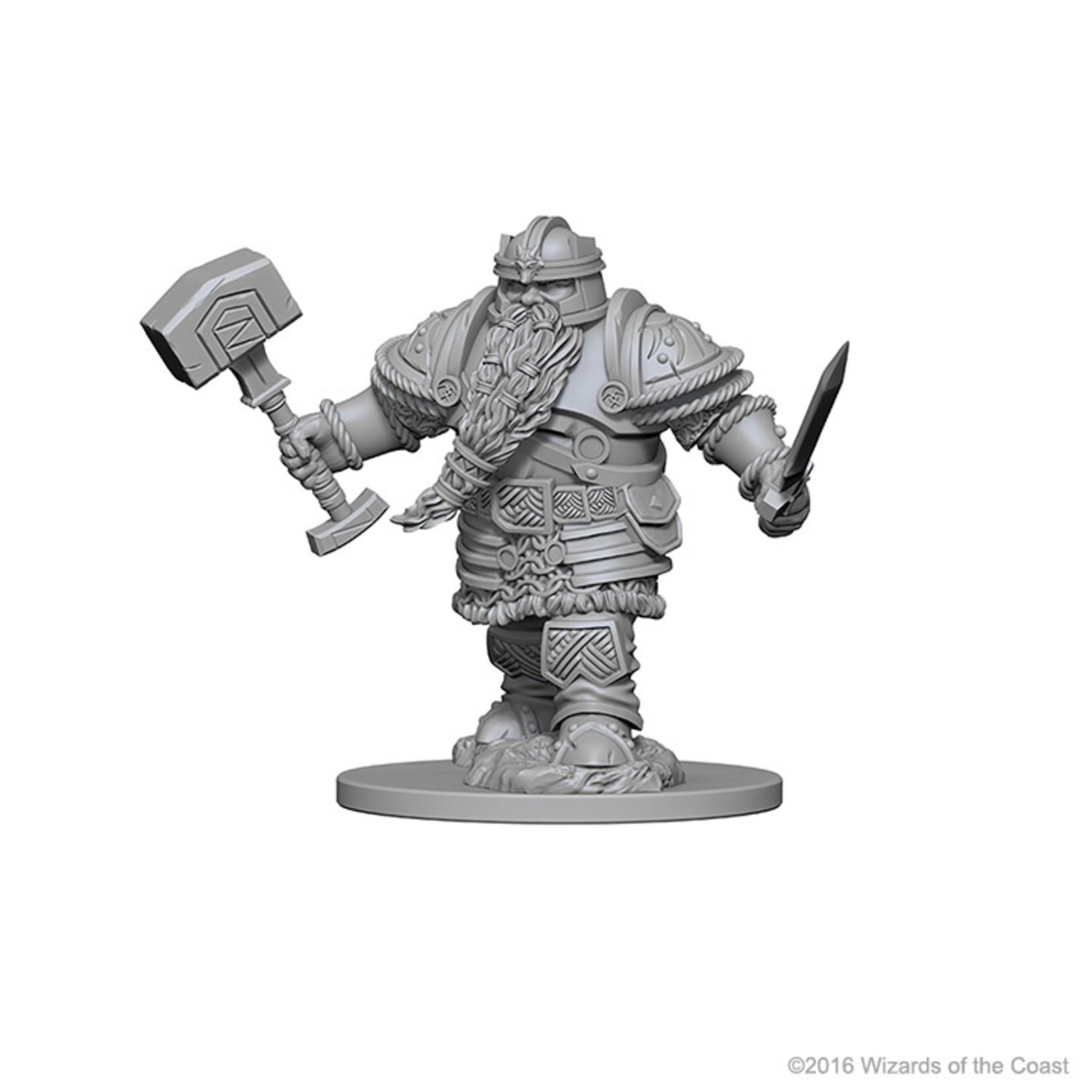 Dungeons & Dragons Nolzur`s W1 Dwarf Male Fighter