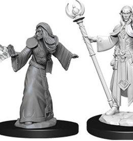 Dungeons & Dragons Nolzur`s W9: Male Elf Wizard