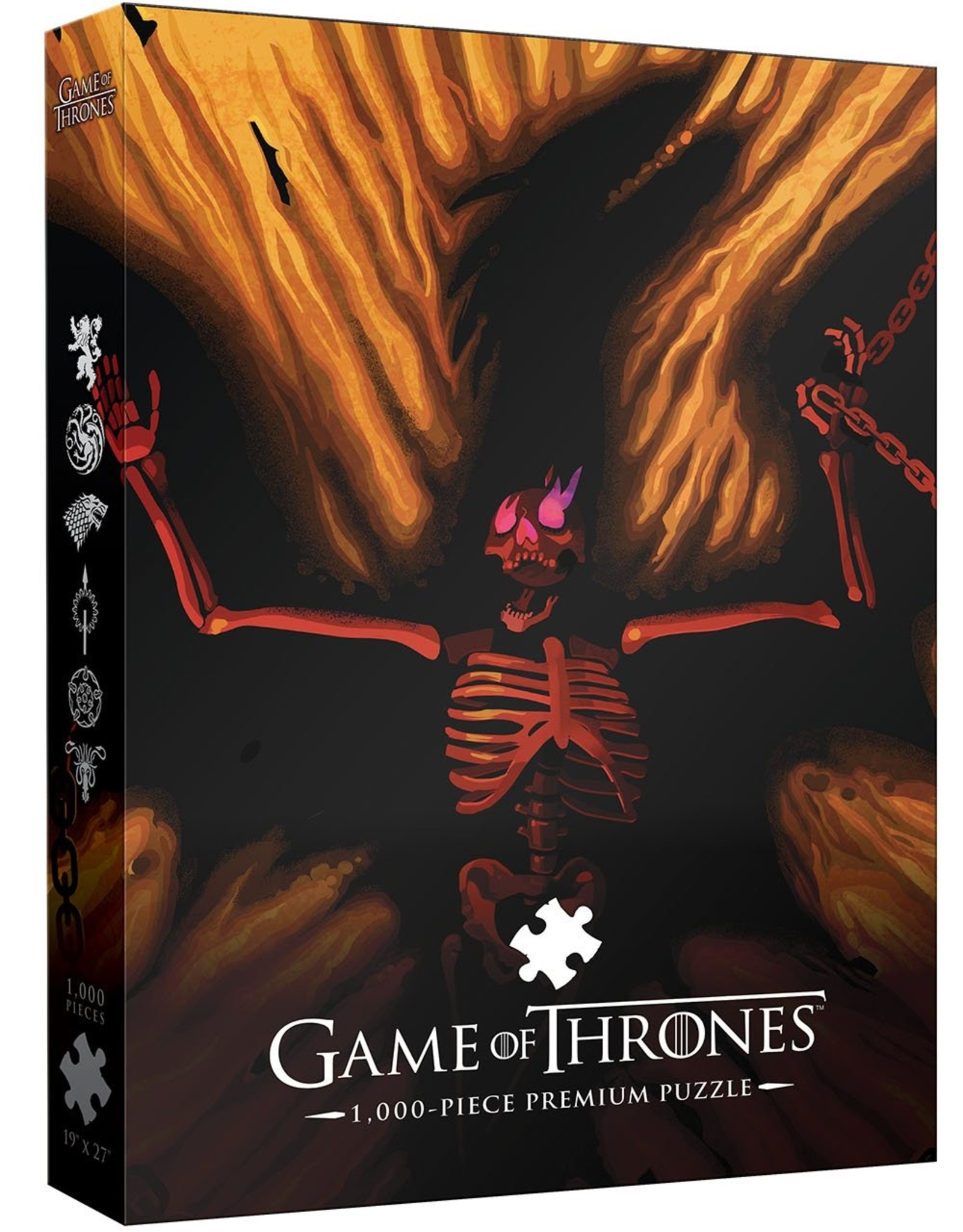 PUZZLES (1000 PIECE) Game of Thrones Dracarys!