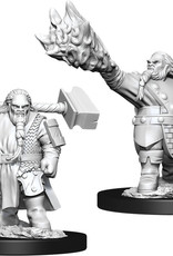 Dungeons & Dragons Nolzur`s Marvelous Unpainted Miniatures: W11 Male Dwarf Cleric