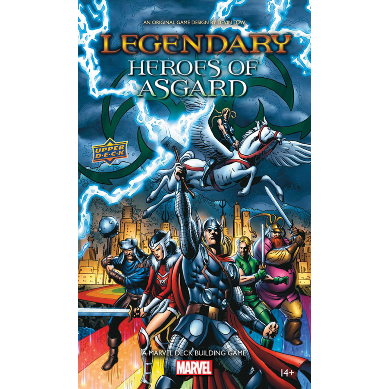 Legendary DBG: Heroes of Asgard Expansion