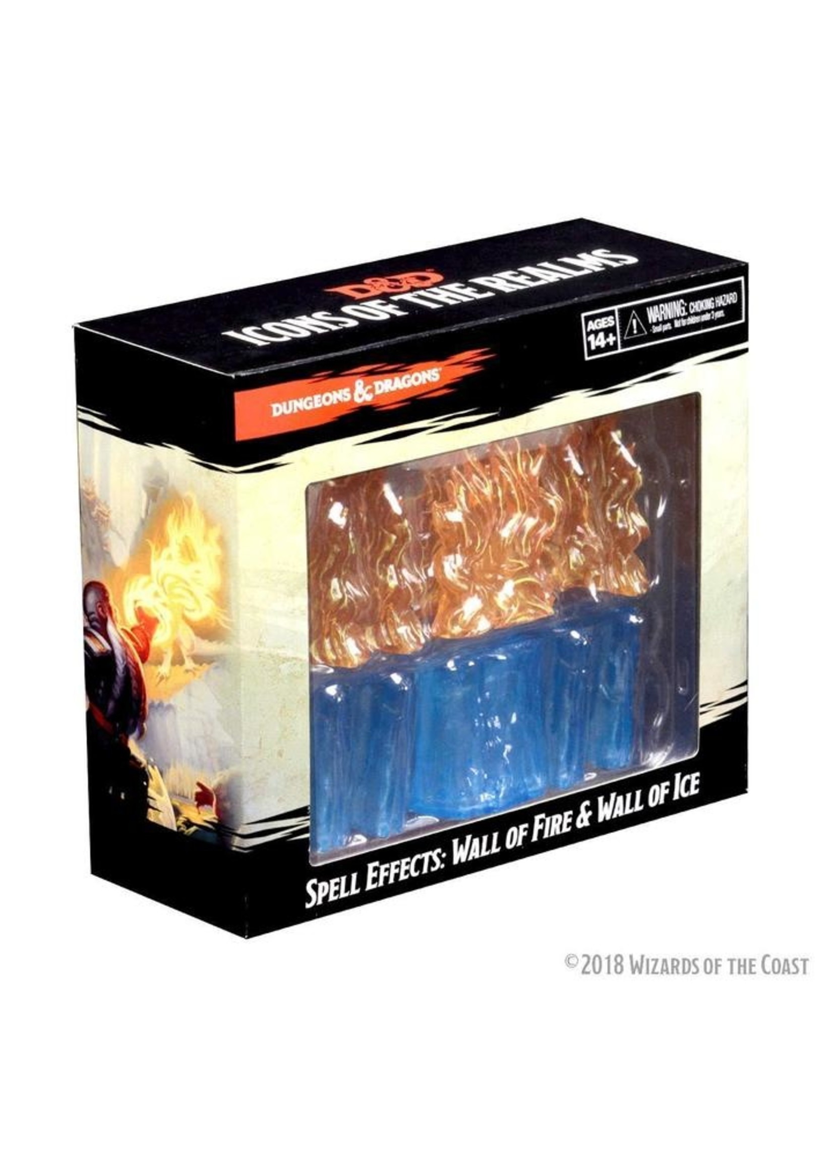 Dungeons & Dragons Spell Effects: Wall of Fire & Wall of Ice