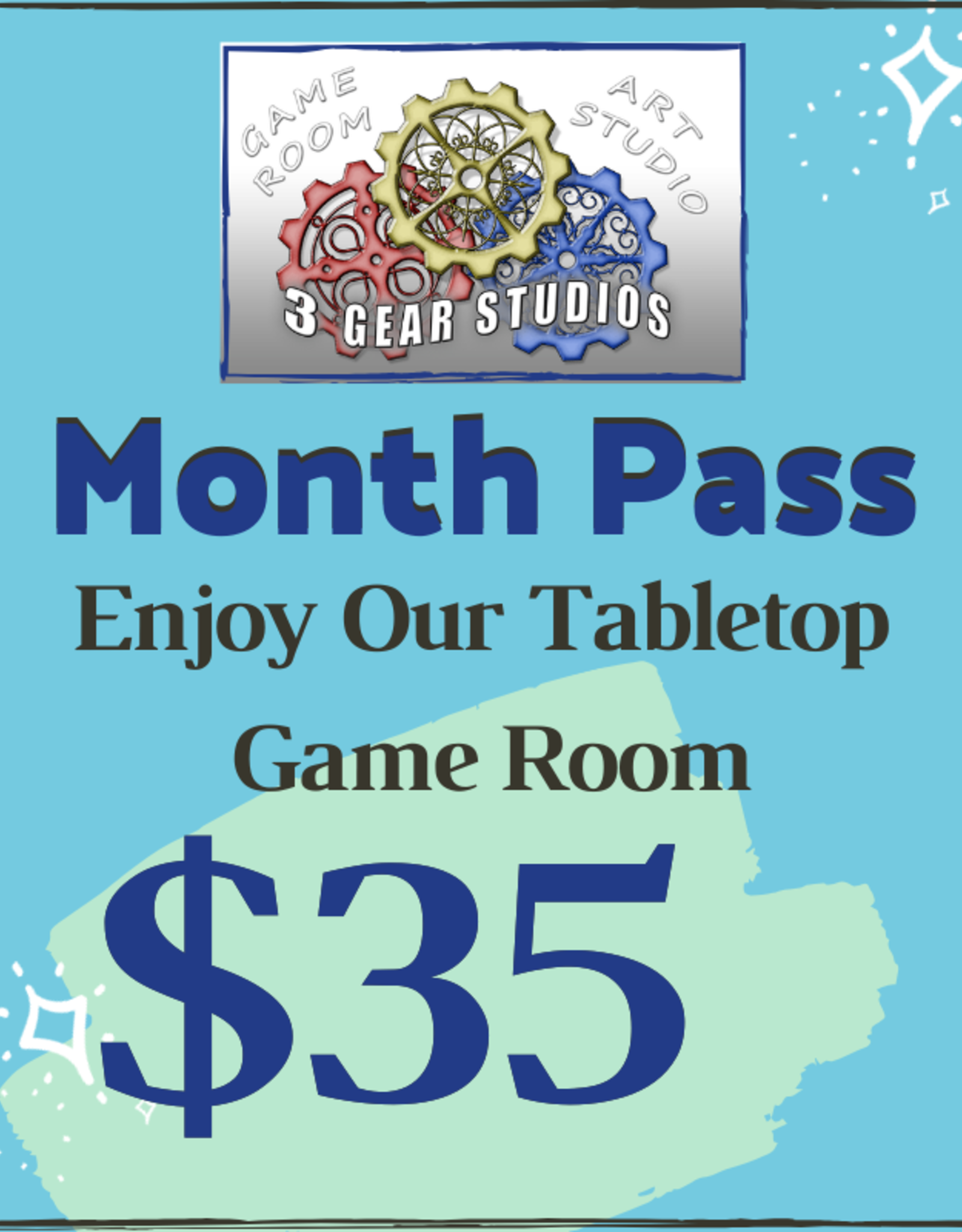Game Room: Month Pass
