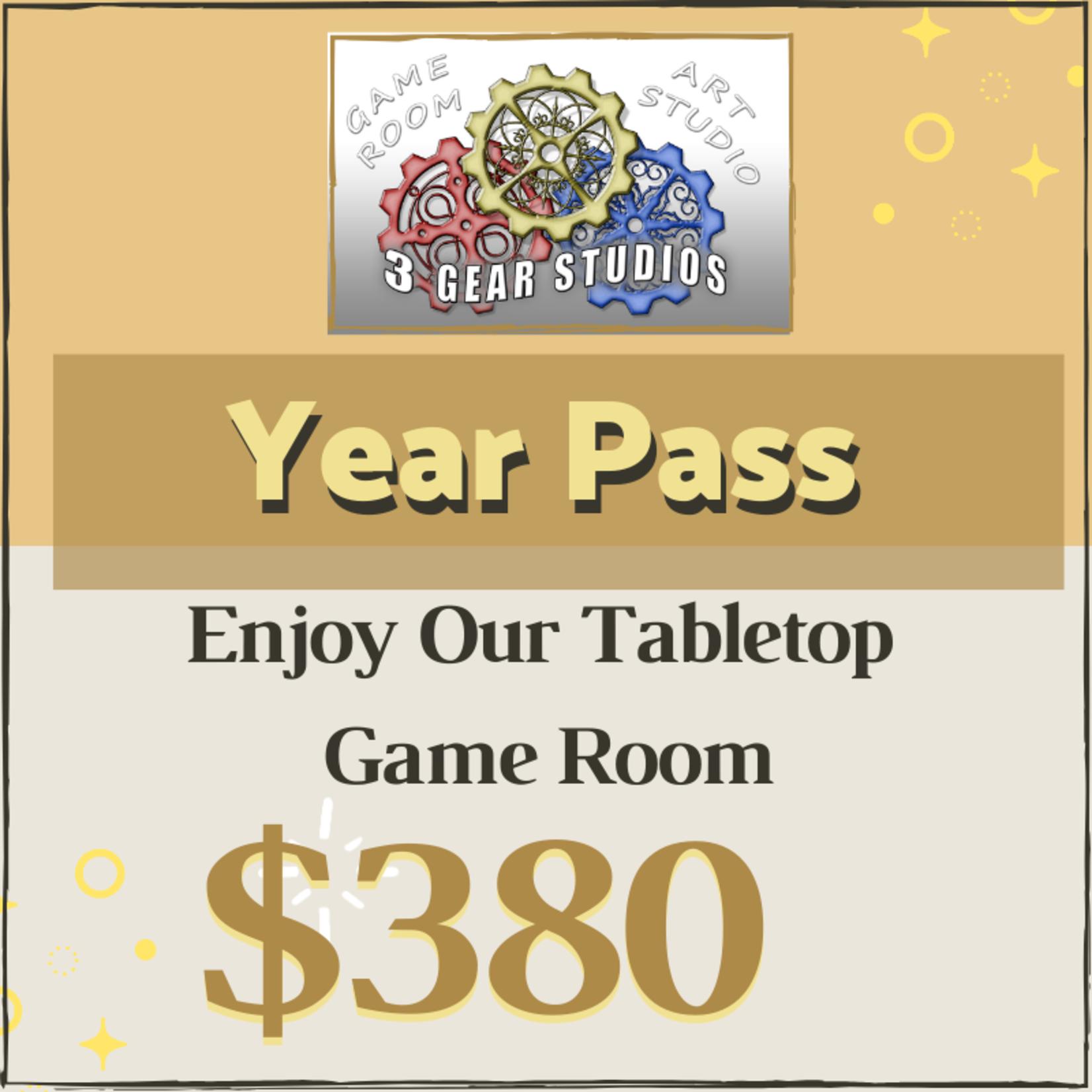 Game Room: Year Pass