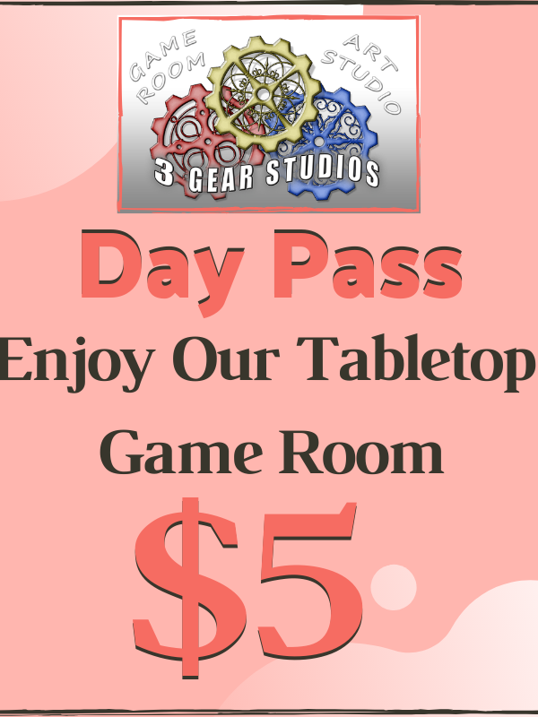 Game Room: Day Pass