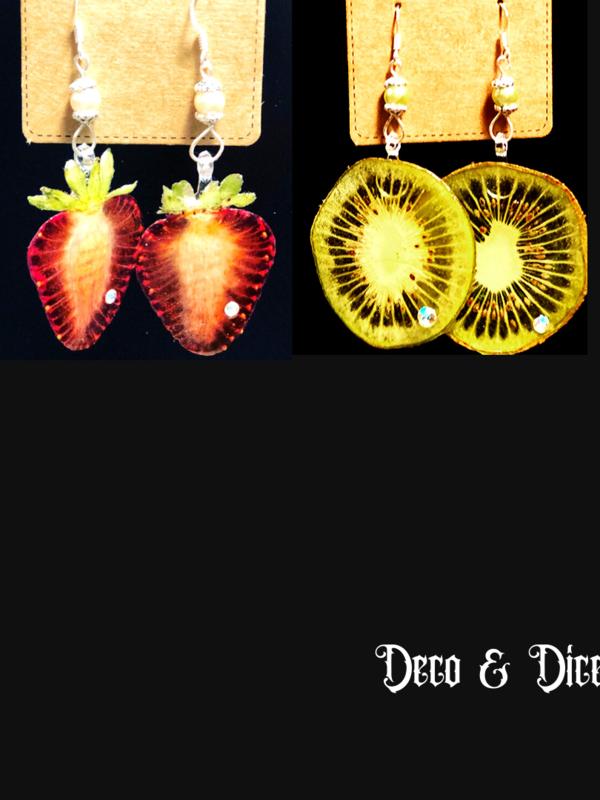 Real Fruit Earrings