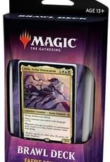 Magic the Gathering CCG: Throne of Eldraine Brawl Deck: Faerie Schemes
