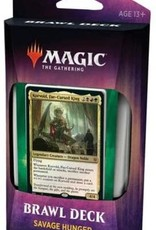 Magic the Gathering CCG: Throne of Eldraine Brawl Deck: Savage Hunger