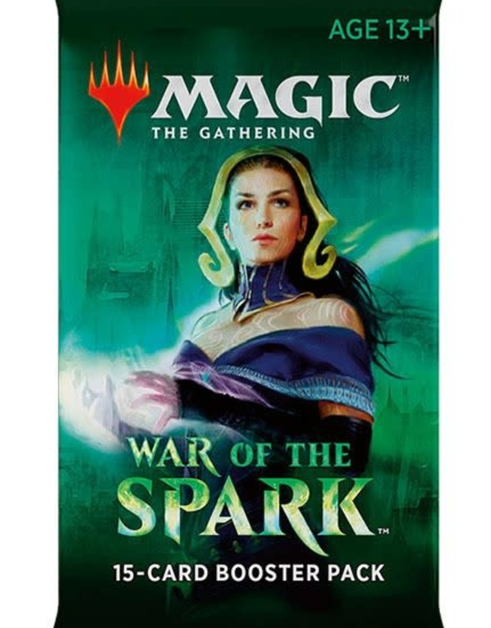 Magic the Gathering CCG: War of the Spark Booster single