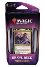 Magic the Gathering CCG: Throne of Eldraine Brawl Deck: Faerie Schemes