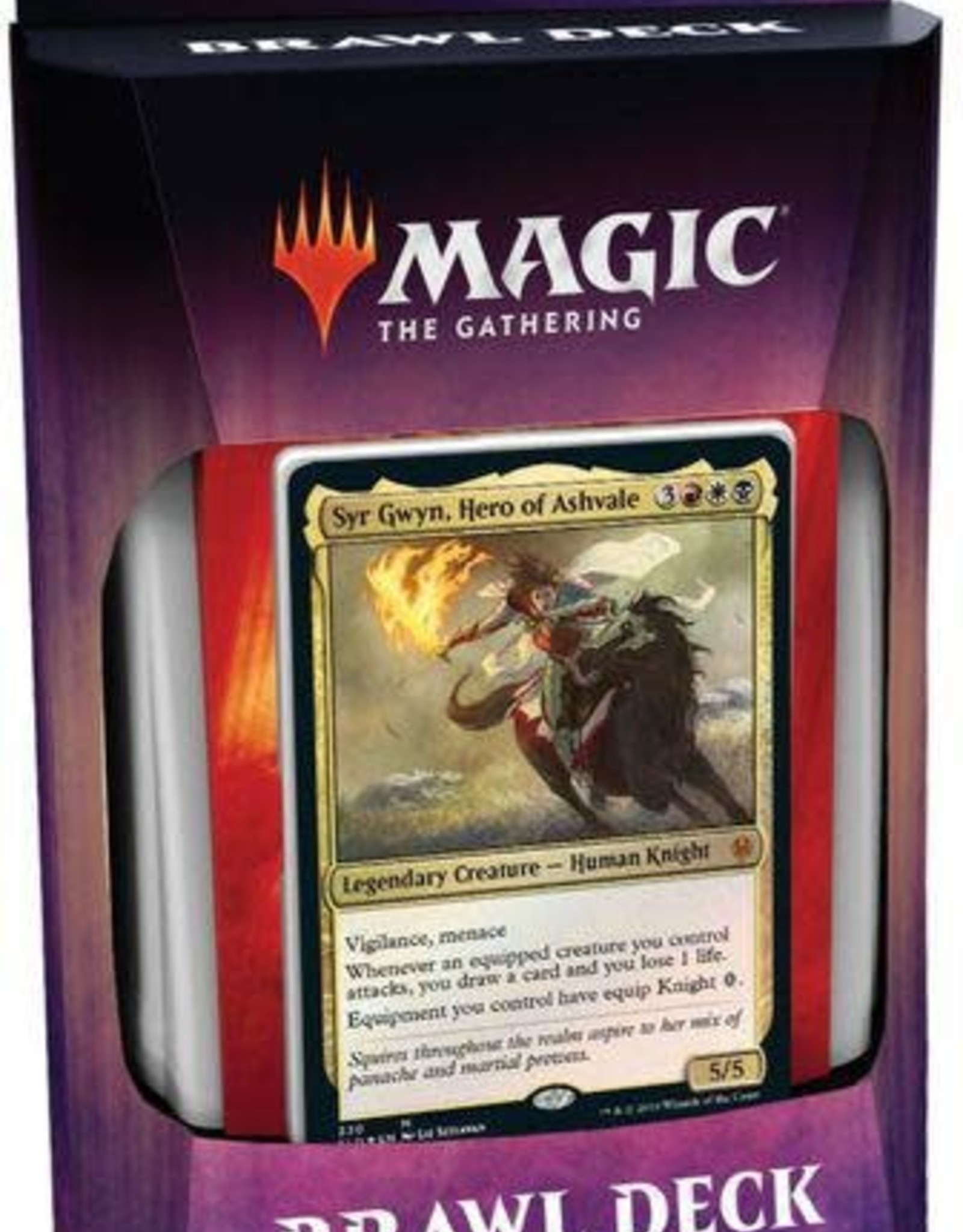 Magic the Gathering CCG: Throne of Eldraine Brawl Deck: Knights' Charge