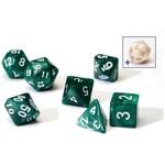 Sirius Dice Set (7): Pearl Green Acrylic