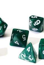 Sirius RPG Dice Set (7): Pearl Green Acrylic