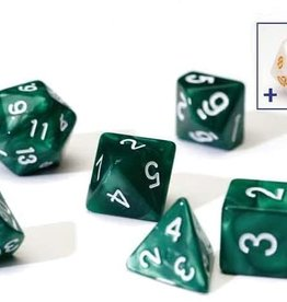 Sirius Dice Set (7): Pearl Green Acrylic
