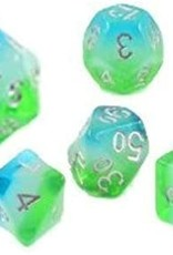 Sirius Dice Set Blue Hawaiian