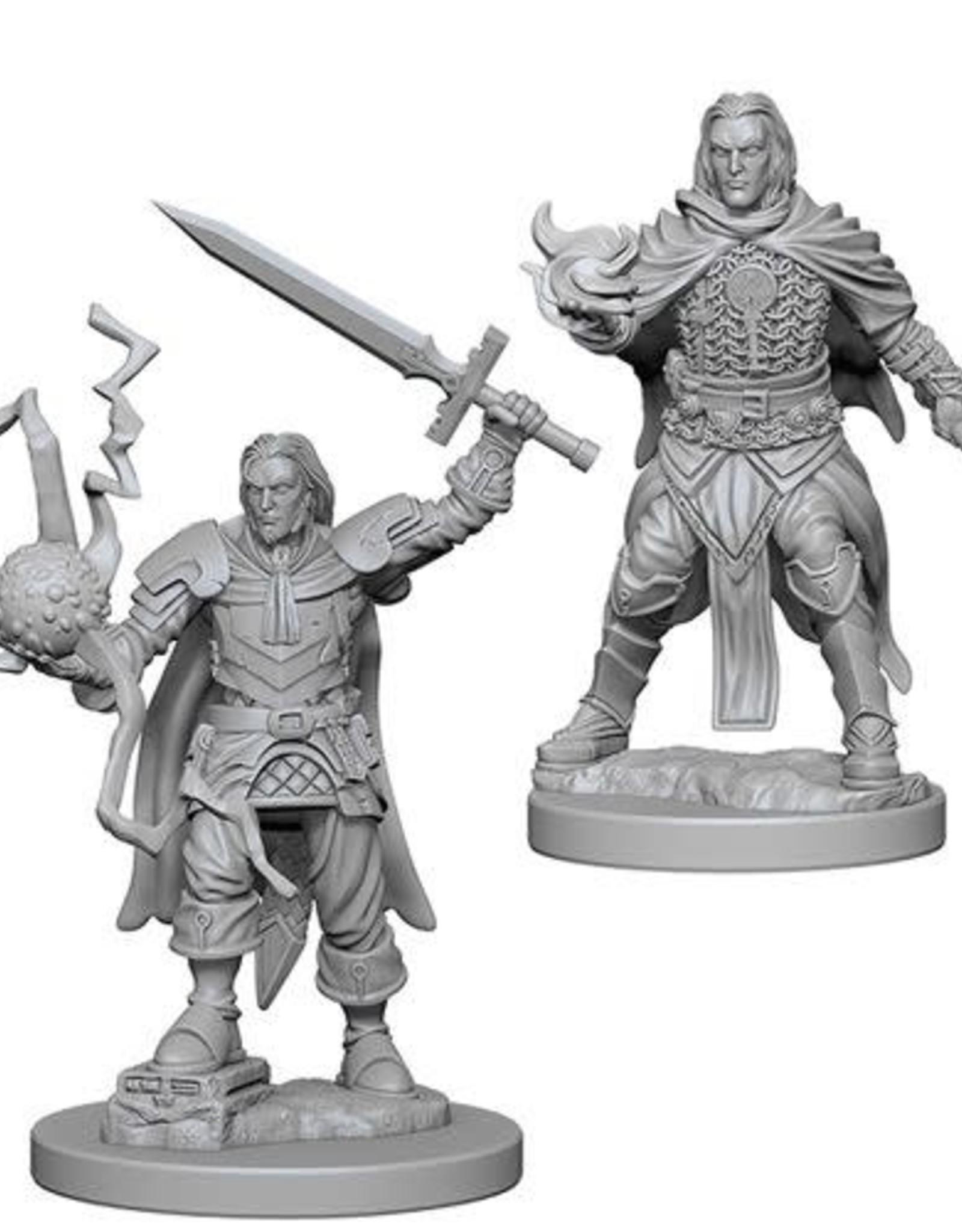 Pathfinder Deep Cuts Unpainted Miniatures: W1 Human Male Cleric