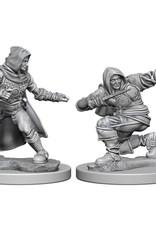 Pathfinder Deep Cuts Unpainted Miniatures: W1 Human Male Rogue