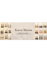 Karen Marion Metal Earrings