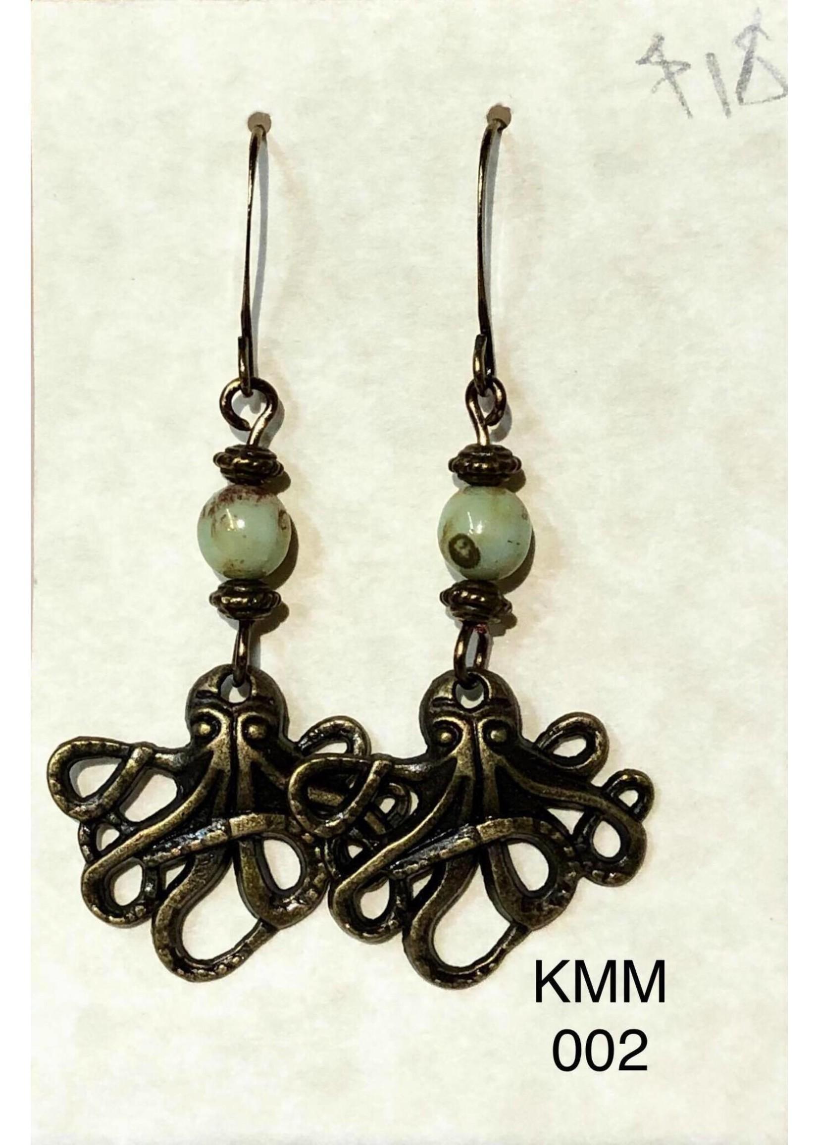 Karen Marion Metal Earrings