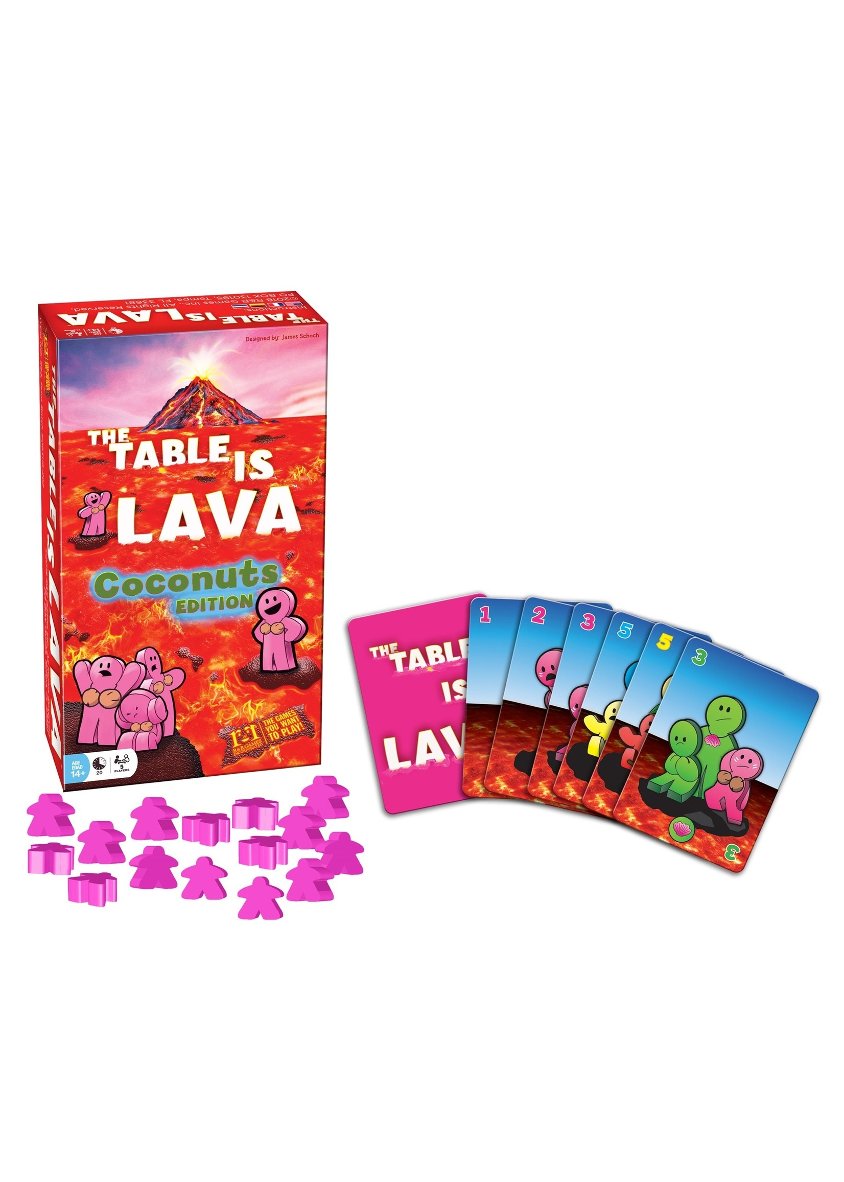 The Table Is Lava: Coconuts Expansion