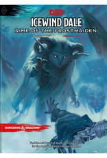 PREORDER Dungeons and Dragons RPG: Ice Wind Dale Rime of the Frost Maiden Hard Cover