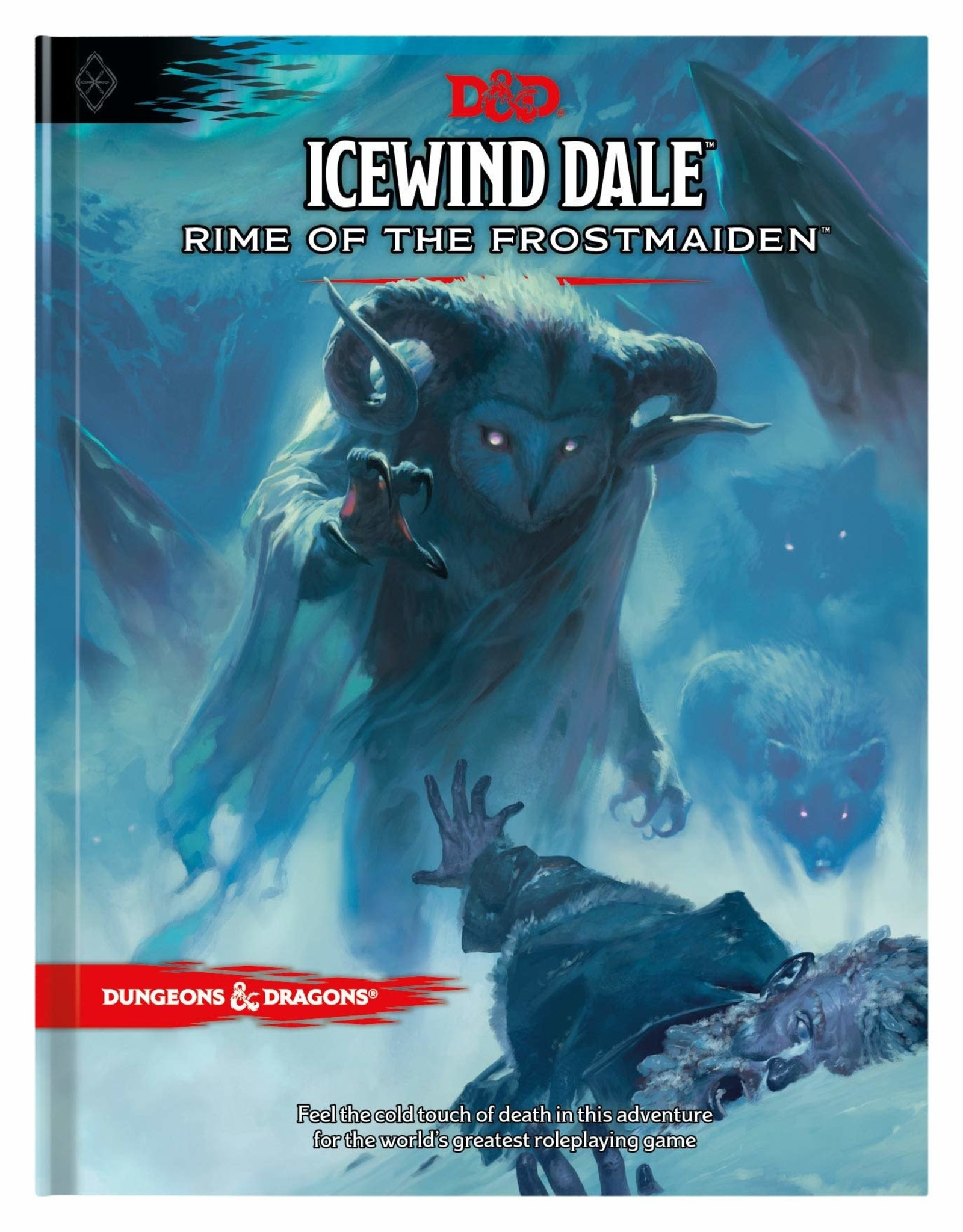 Dungeons and Dragons RPG: Ice Wind Dale Rime of the Frost Maiden Hard Cover