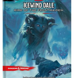 Dungeons and Dragons RPG: Ice Wind Dale Rime of the Frost Maiden Standard  Cover