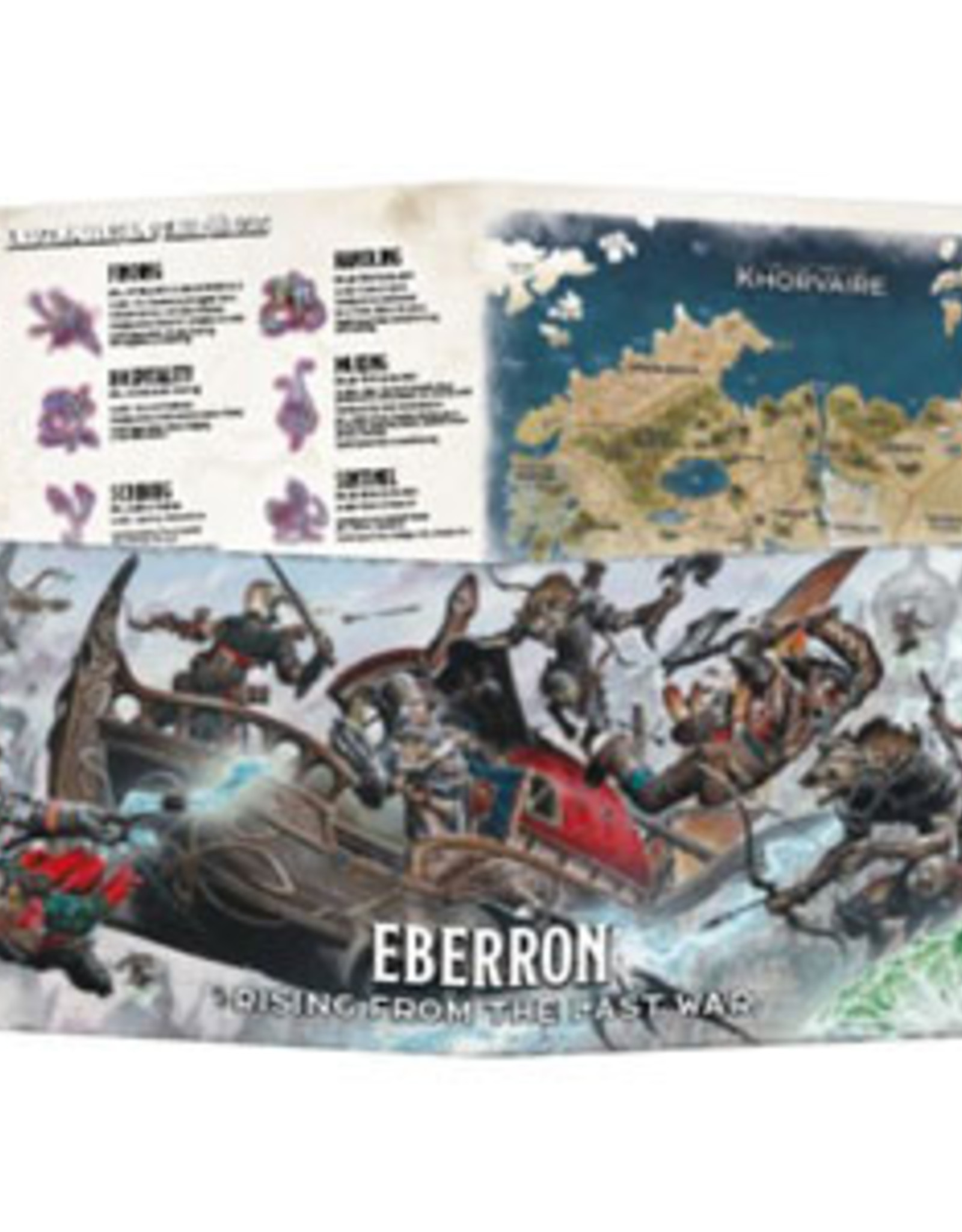 Dungeons and Dragons RPG: Eberron - Rising from the Last War DM Screen