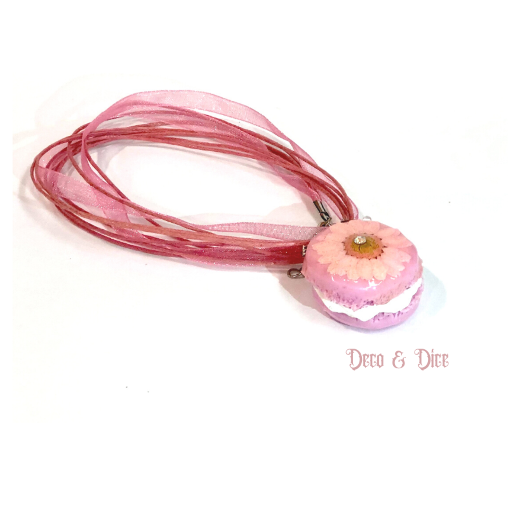 Butterfly Macaron Necklace