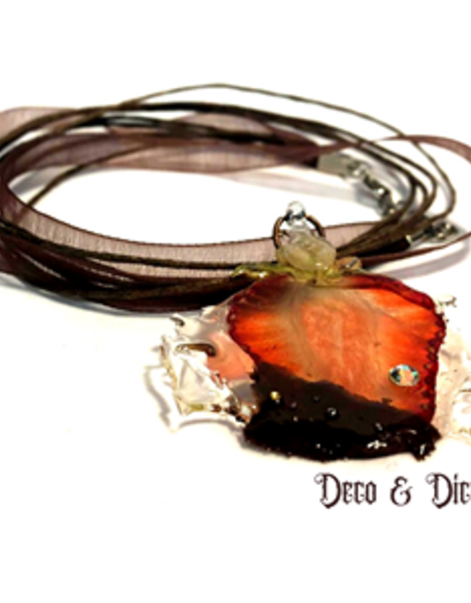 Deco and Dice Real Fruit Necklace