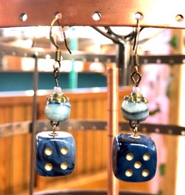 Deco and Dice Dice Earrings