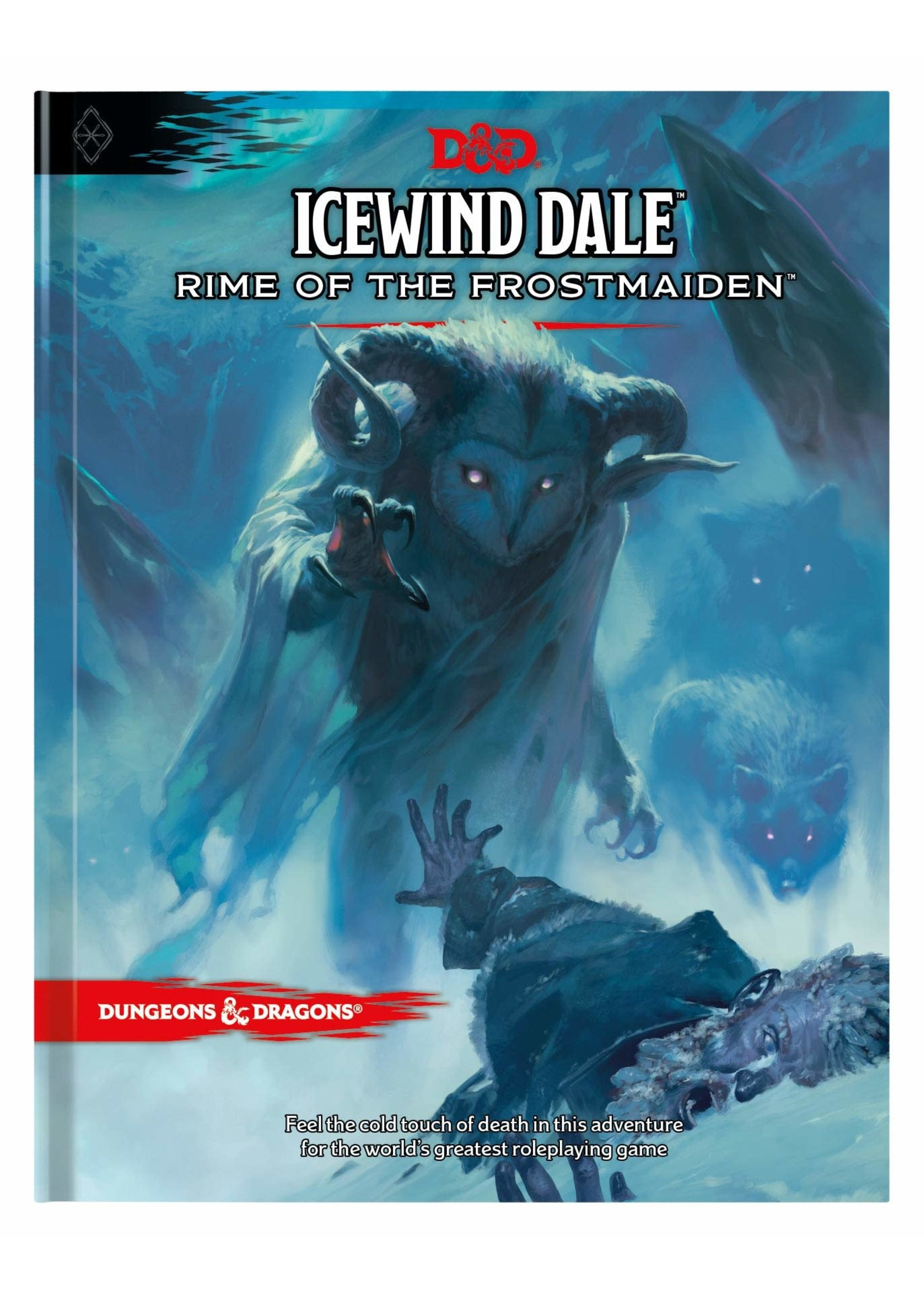 Dungeons and Dragons RPG: Icewind Dale Rime of the Frost Maiden Hard Cover