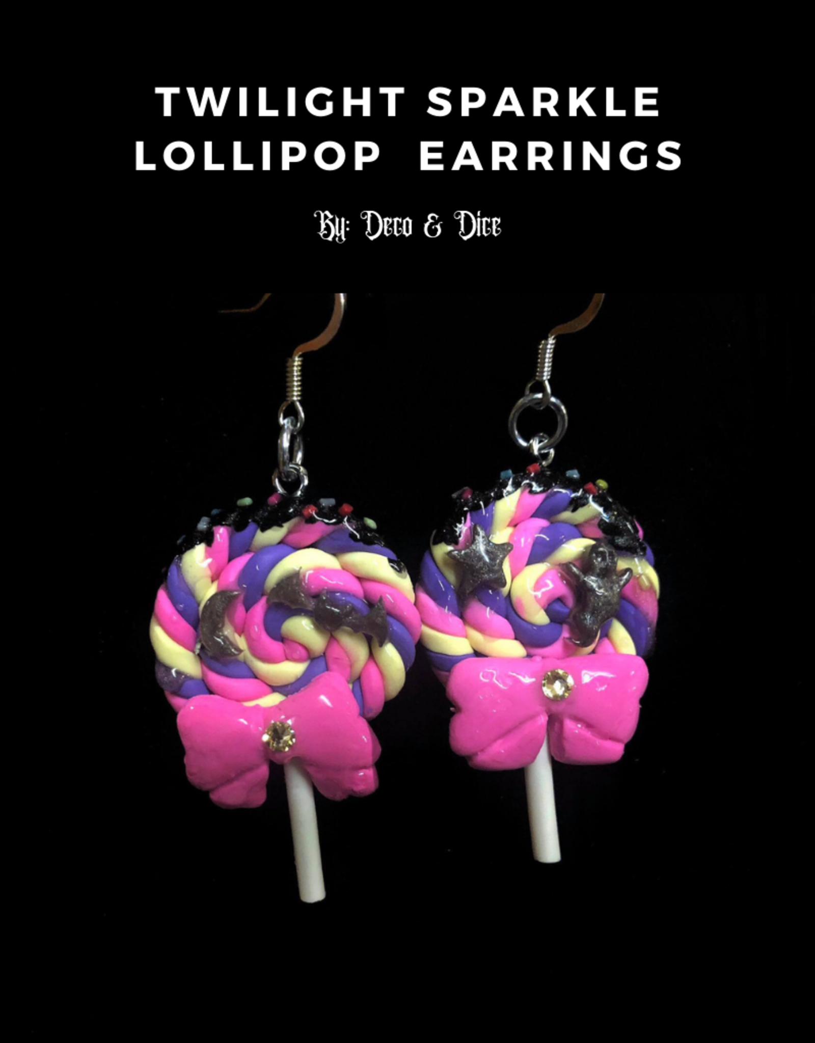 Lollipop Earrings