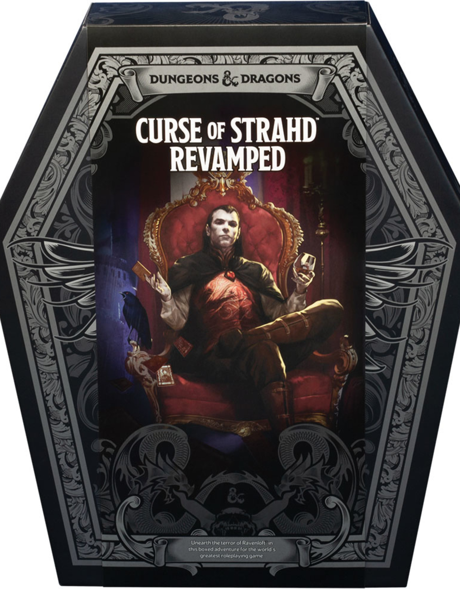 Dungeons and Dragons RPG: Curse of Strahd Revamped