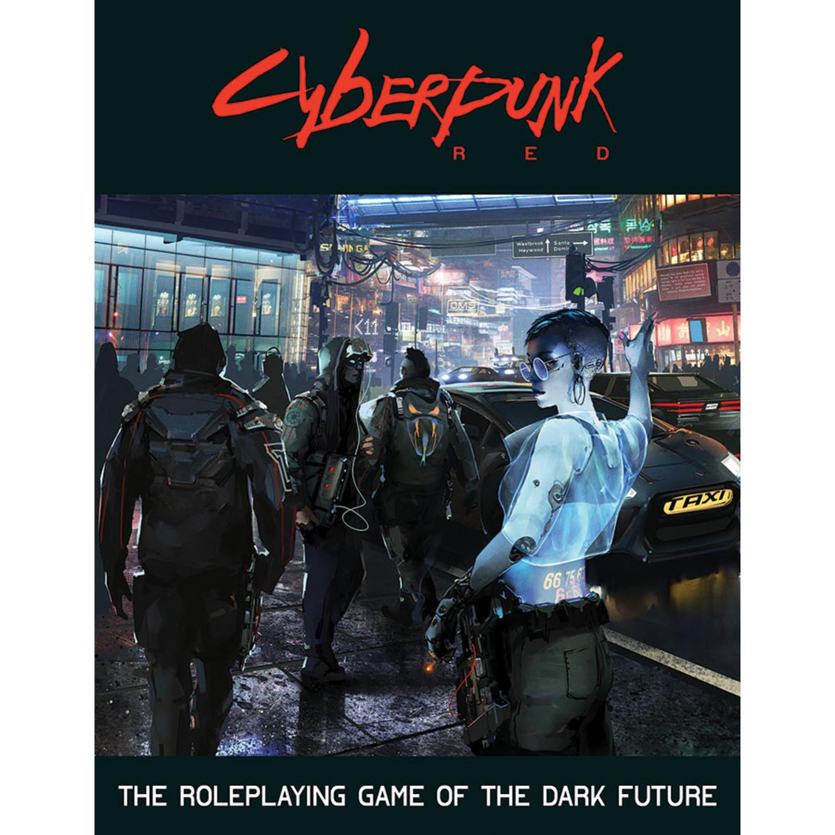 Cyberpunk Red: Core Rulebook