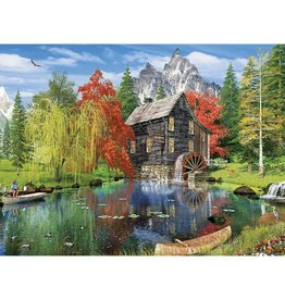 Fishing By The Mill 1500 Puzzle