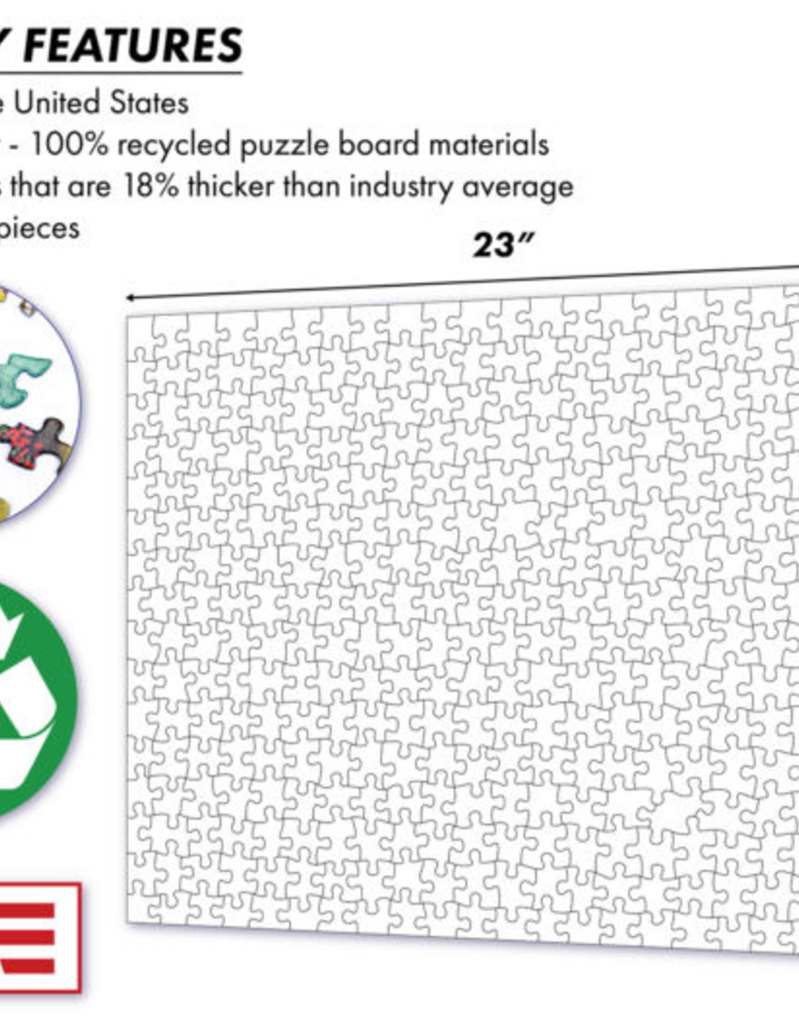 Vineyard Retreat 500 Piece Puzzle