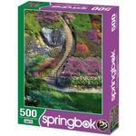 Garden Stairway 500 Piece Puzzle