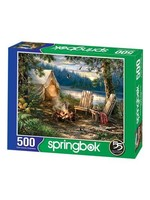 Evening At The Lake 500 piece puzzle