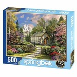 Mountain View Chapel 500 Piece Puzzle