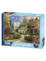Mountain View Chapel 500 Piece Puzzle