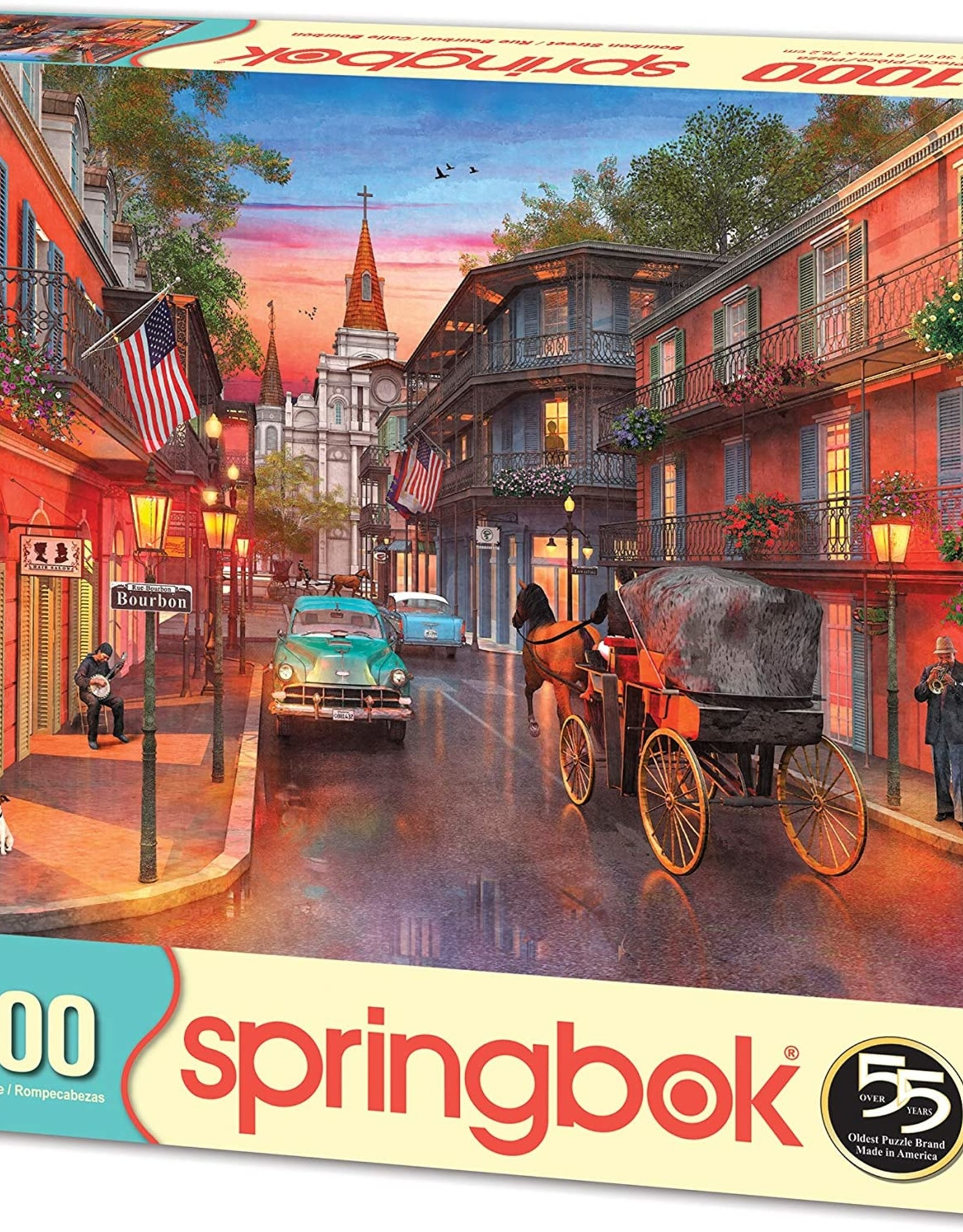 Bourbon Street 1000 Piece Puzzle
