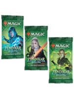 Magic the Gathering CCG: Zendikar Rising Draft Booster Display single