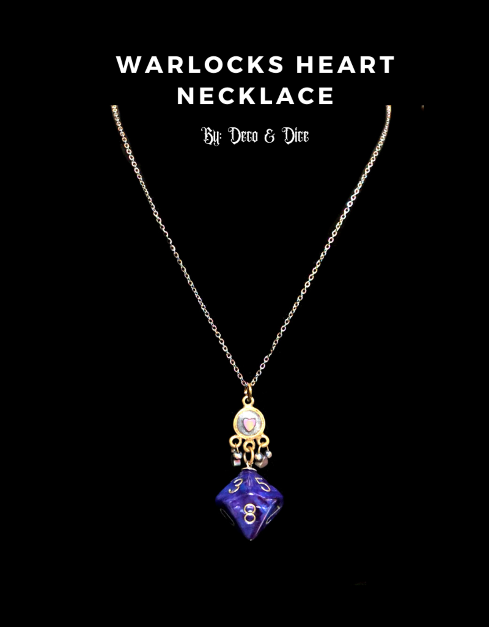 Deco and Dice Dice Necklace
