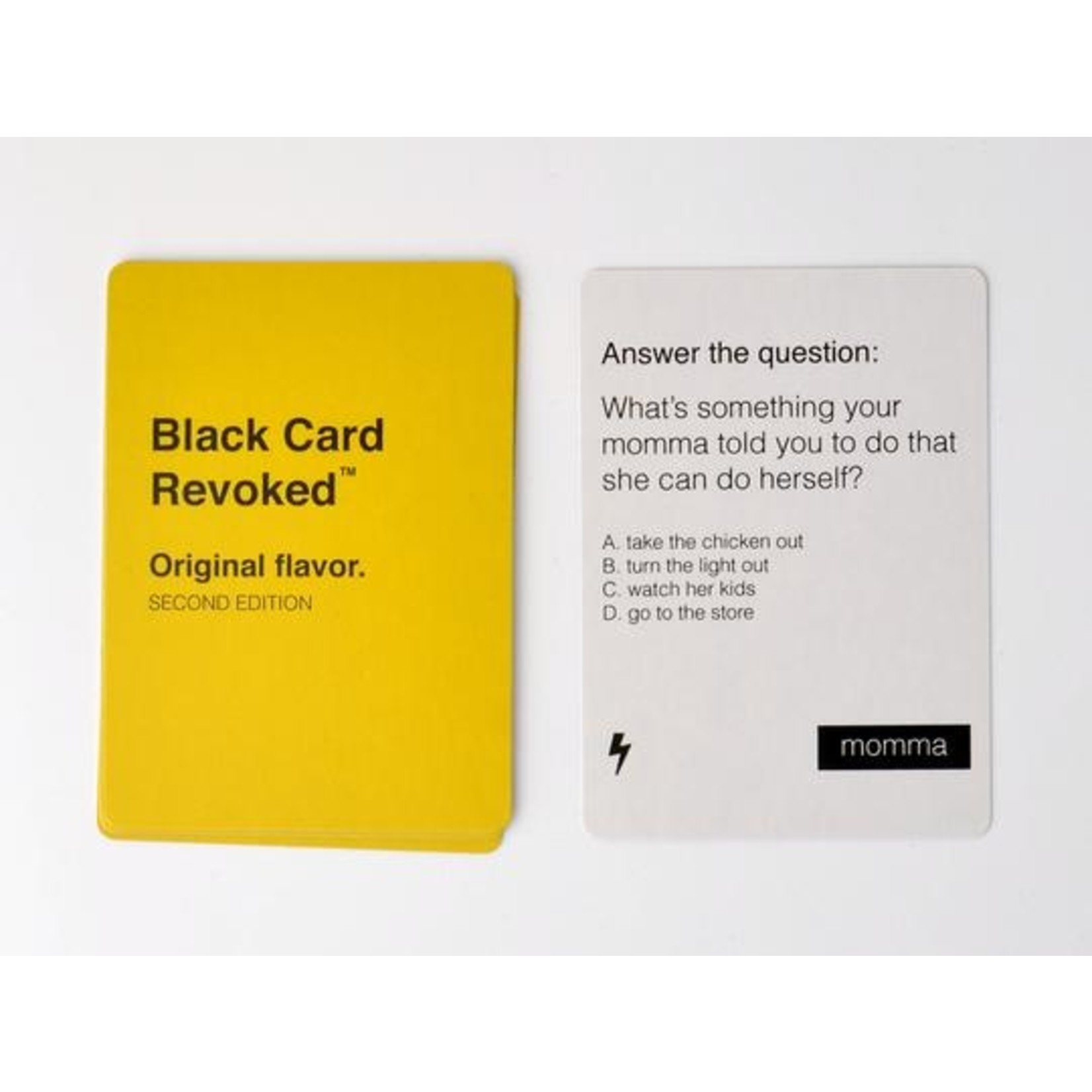 Black Card Revoked - Original Flavor 2