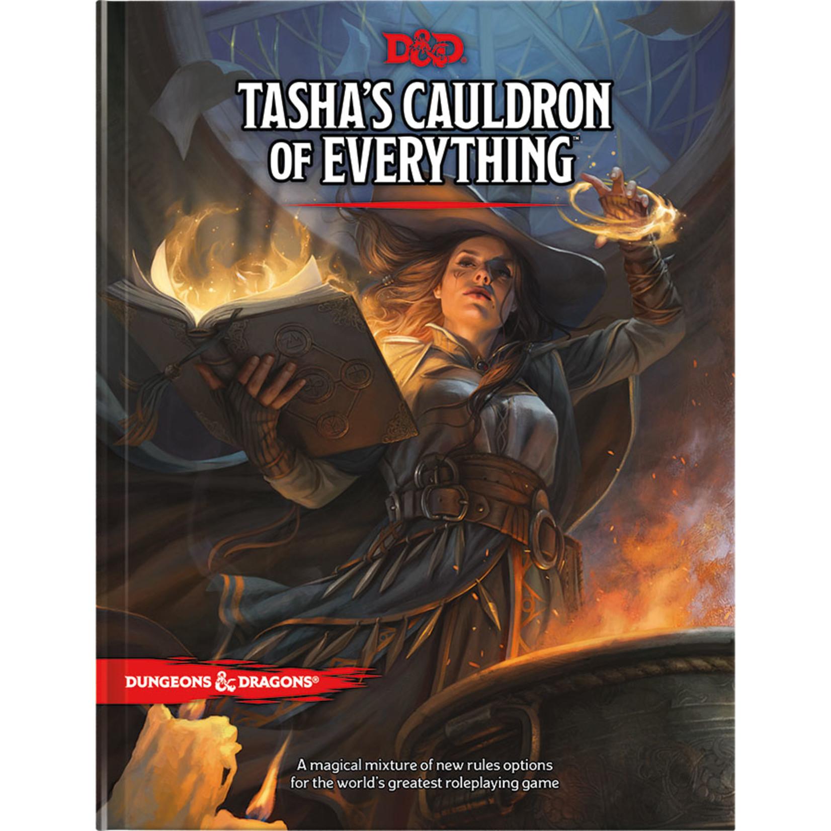 Dungeons and Dragons RPG: Tasha`s Cauldron of Everything