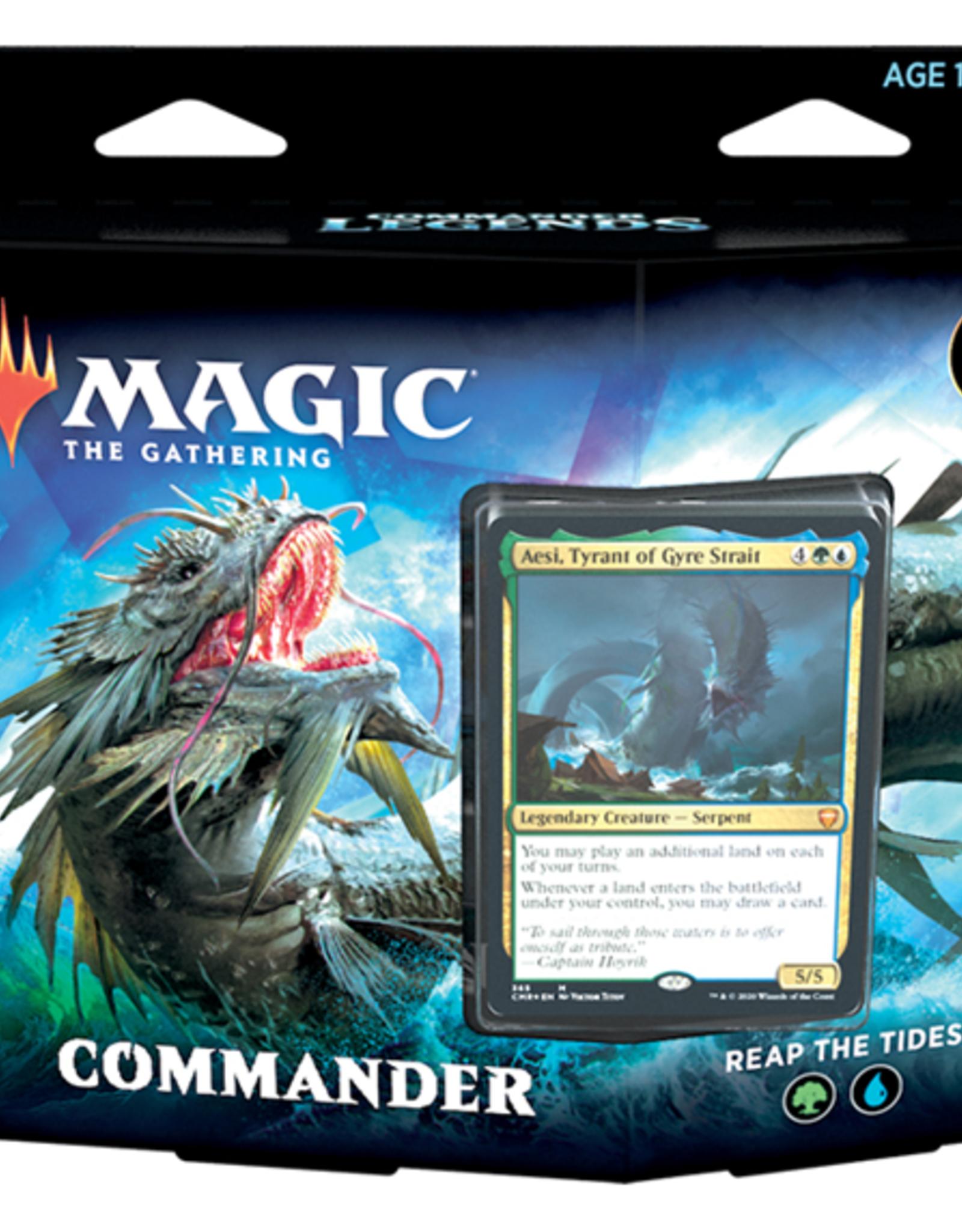 Magic the Gathering : Commander Legends Reap The Tides