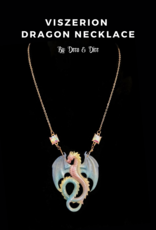 Deco and Dice Dragon Necklaces