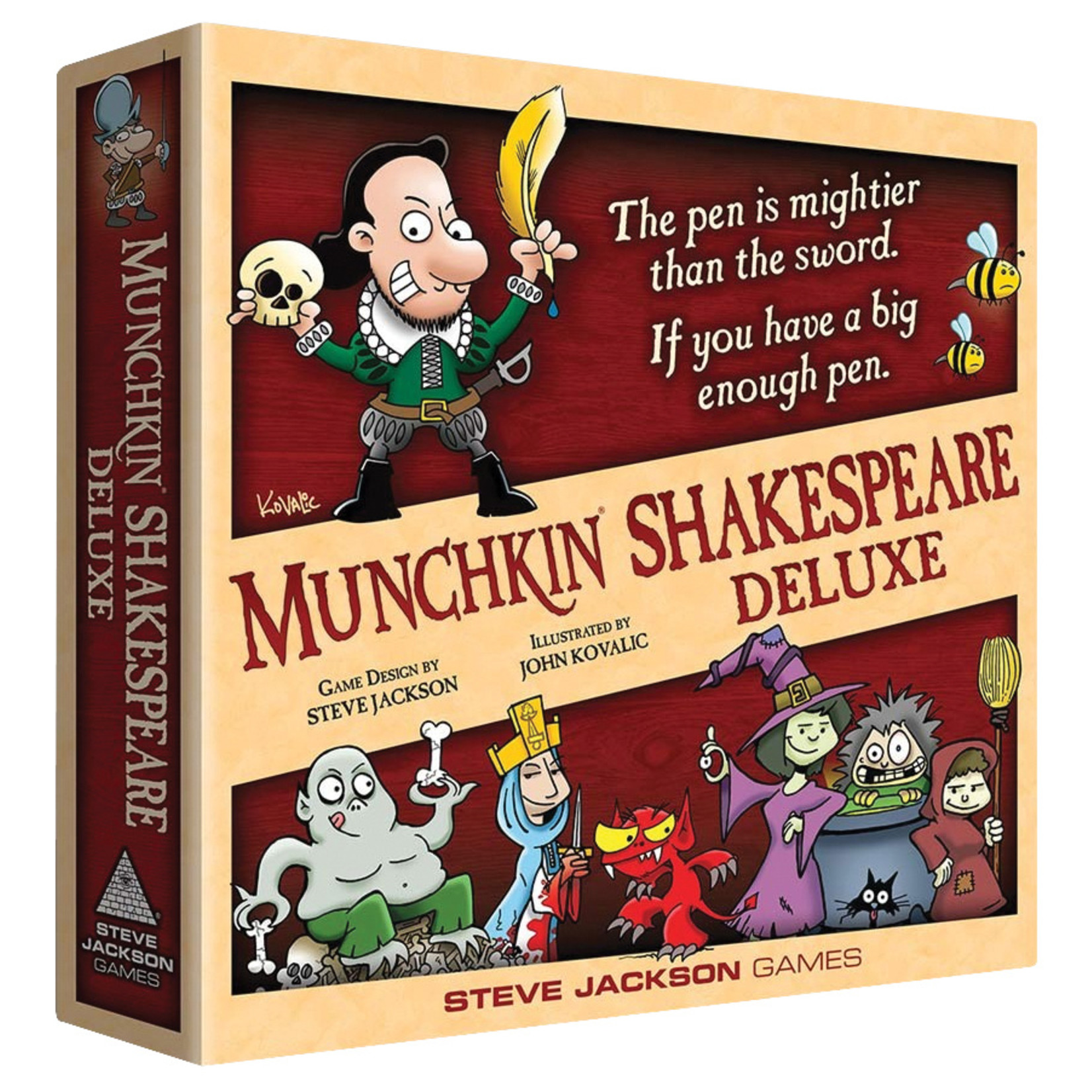Munchkin Shakespeare: Deluxe (stand alone and expansion)